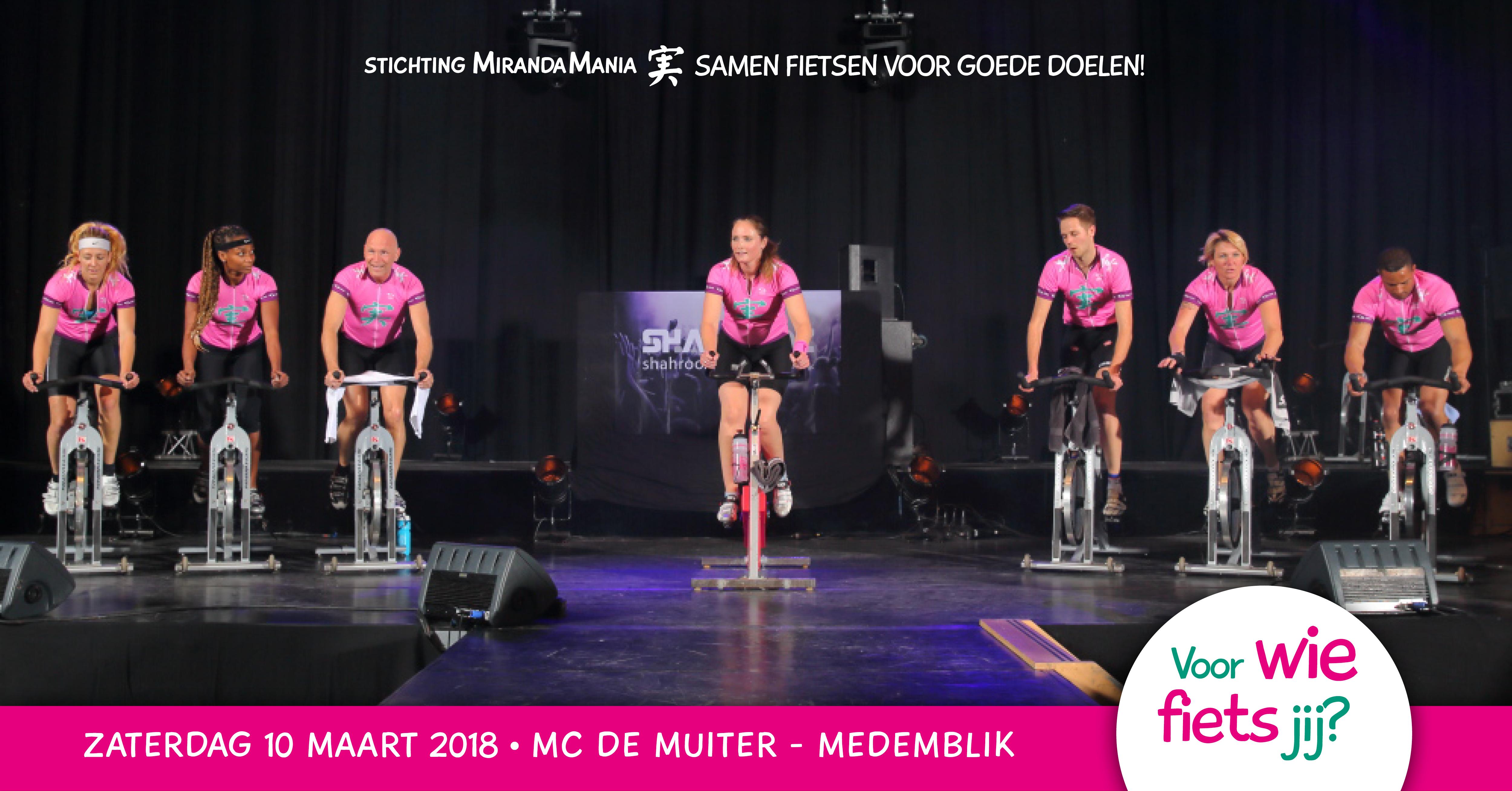 650689b41f8b03 MirandaMania Spinning Marathon zaterdag 10 maart 2018